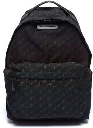 Stella McCartney Monogram print backpack