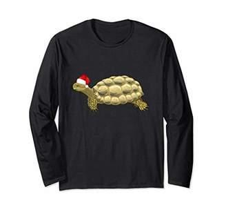 Tortoise Christmas Pajama Long Sleeve Shirt