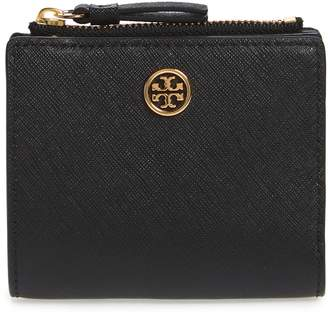 Tory Burch Mini Robinson Wallet Leather Bifold Wallet