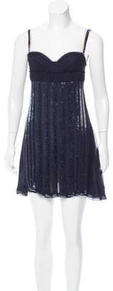 CNC Costume National C'N'C Sequined Mini Dress