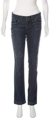Juicy Couture Low-Rise Straight-Leg Jeans