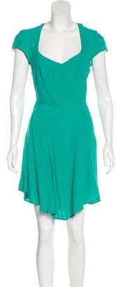 Reformation Crepe Mini Dress
