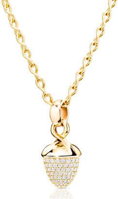 Tamara Comolli Mikado Bouquet 18K Yellow Gold Pave Diamond Pendant