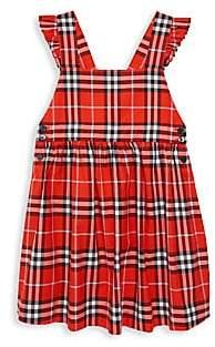 Burberry Little Girl's & Girl's Livia Core-Check A-Line Dress