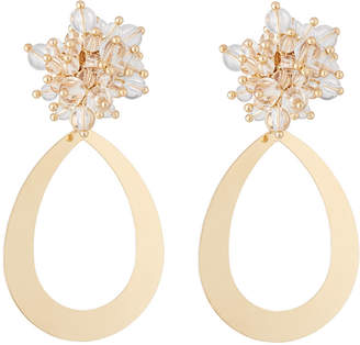 Lydell NYC Lucite® Cluster Drop Earrings