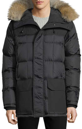 Canada Goose Men's Callaghan Fur-Trim Hooded Parka Coat