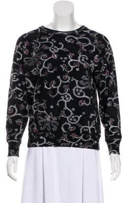 Etoile Isabel Marant Printed Crew Neck Sweater
