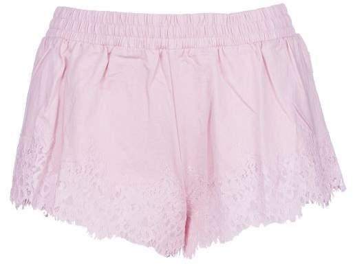 Puma Fenty By Rihanna Lace Trim Sleepwear Shorts
