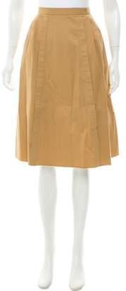 Paul Smith Pleated Knee-Length Skirt