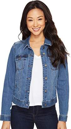 Liverpool Jeans Company Women's Classic Jacket in Super Comfort Vintage Stretch Denim
