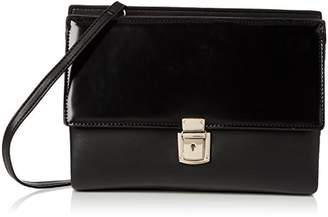 French Connection Womens Clean Pu Carina 2 Clutch Black