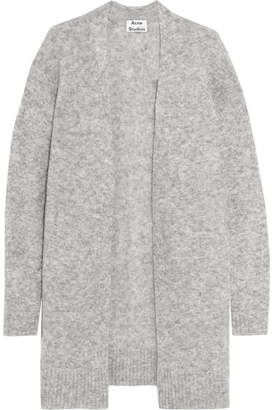 Acne Studios - Raya Knitted Cardigan - Gray $410 thestylecure.com