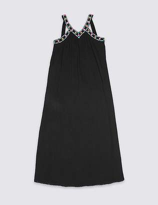 Marks and Spencer Pure Cotton Maxi Dress (3-16 Years)