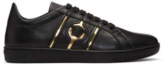 Versace Black Medusa Head Sneakers