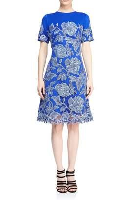 Tadashi Shoji Blue Sabi Dress