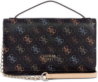 GUESS Kamryn Signature Top Handle Crossbody Wallet