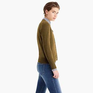 J.Crew Everyday cashmere cropped cardigan sweater