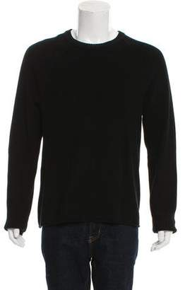 Rag & Bone Woven Crew Neck Sweater