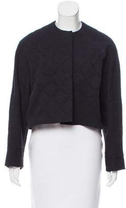 Balenciaga Knit Long Sleeve Jacket
