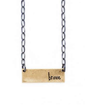 Bops Inspirational Bar Necklace
