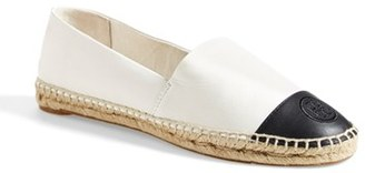 Women's Tory Burch Colorblock Espadrille Flat $195 thestylecure.com