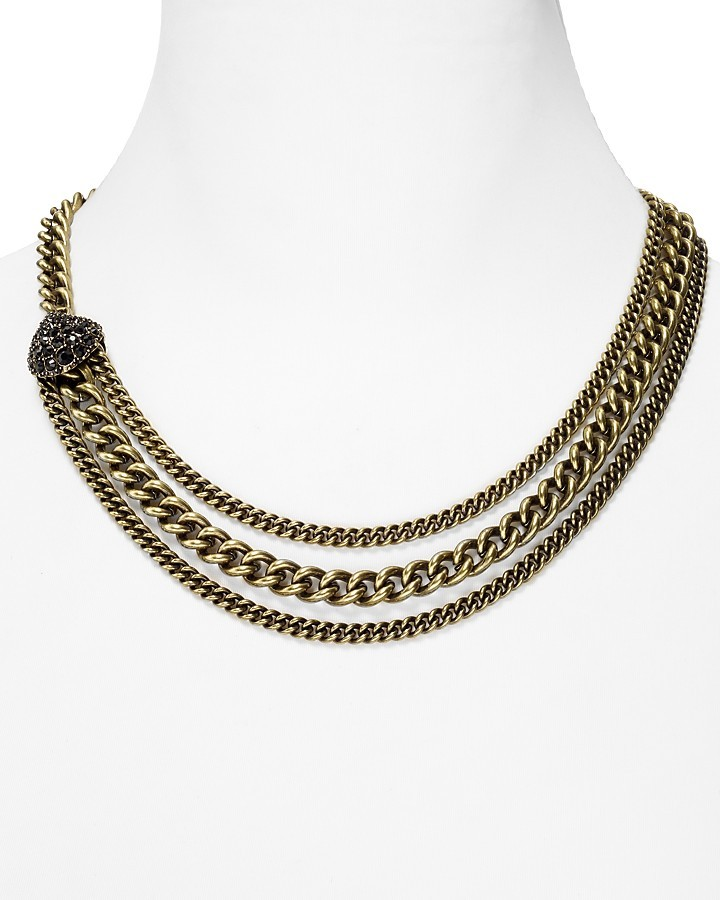 """Giles & Brother Encrusted Circe Chain Necklace, 20"""""""