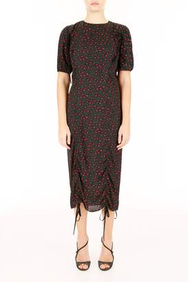 Marni Midi Dress With Floral Print