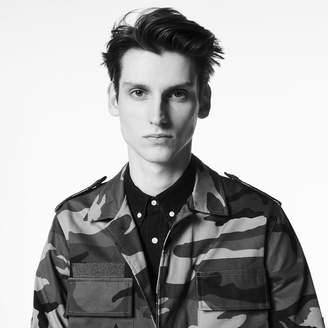 Sandro Camouflage print jacket