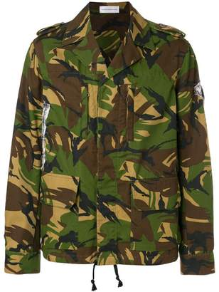 Faith Connexion camouflage print jacket