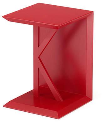 IDC OTSUKA/大塚家具 サイドテーブル K1 レッド