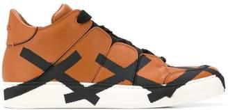 Ermenegildo Zegna XXX XXX hi-top sneakers