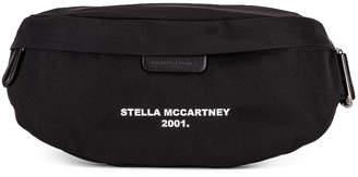 Stella McCartney Nylon Falabella Bum Bag in Black & White | FWRD