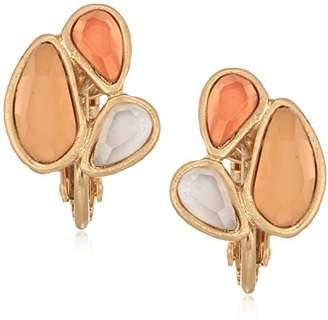 The Sak Women's Small Cluster Clip-On Earrings