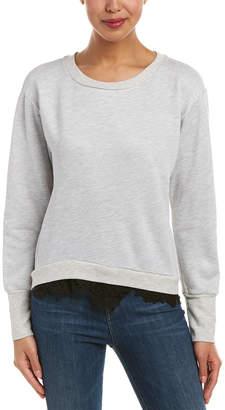 Nation Ltd. Peek Of Lace Sweatshirt