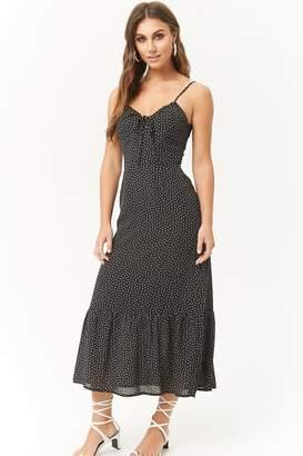 Forever 21 Dot Print Midi Dress