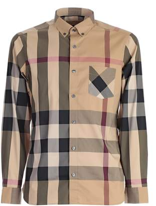 Burberry Checked Pattern Shirt