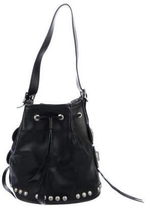 Kieselstein-Cord Leather Shoulder Bag
