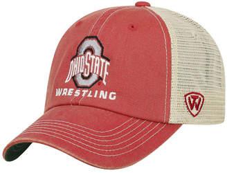 Top of the World Ohio State Buckeyes Wrestling Mesh Adjustable Snapback Cap
