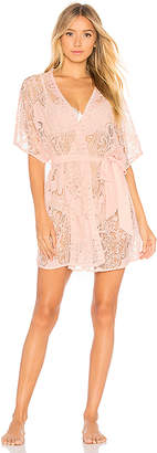 Flora Nikrooz All Over Lace Robe