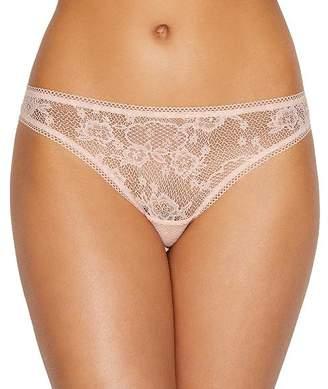 OnGossamer Lace Hip Bikini