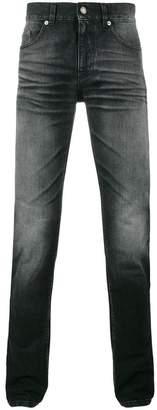Saint Laurent washed slim-fit jeans