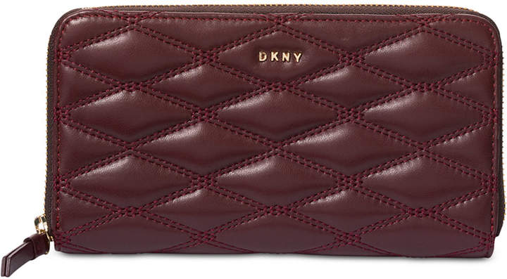 Dkny Lara Large Zip-Around Wallet, Created for Macy's