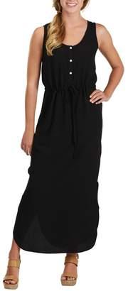 Mud Pie Black Crepe Maxi Dress $62.99 thestylecure.com