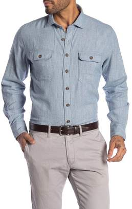 RODD AND GUNN Thornlea Flannel Sports Fit Shirt