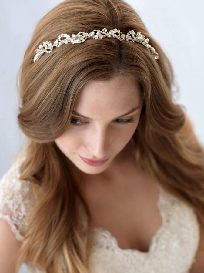 Etsy Vintage Bridal Headband, Crystal Wedding Headband, Rhinestone Headband, Bride Headband, Bridal Headp