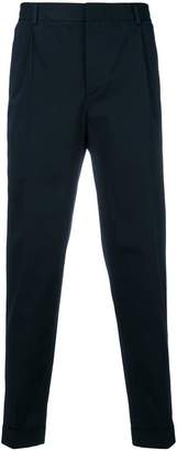 Corneliani tapered trousers