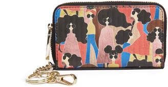 Alice + Olivia AVRIL STACEY MONTAGE SMALL WALLET