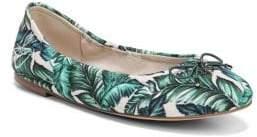 Sam Edelman Felicia Palm Print Flats