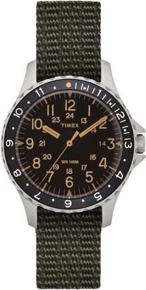 Timex R) ARCHIVE R) Navi Ocean Reversible NATO Strap Watch, 38mm