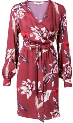 Ya-Ya Floral Wrap Dress - EU34 UK8
